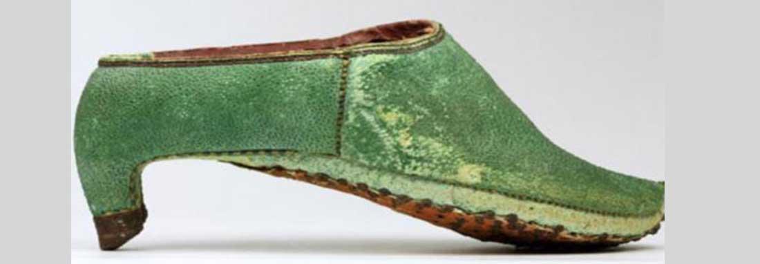 کفش پاشنه بلند ؛ مُدی که مردان سرباز ایران باستان آن را شروع کردند ، شاه ایران مُد پاشنه بلند را به اروپا صادر کرد