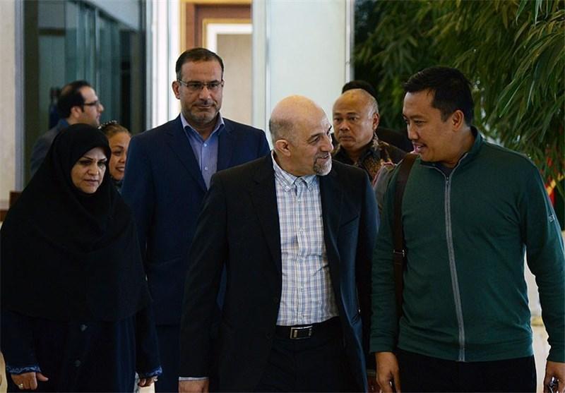 وزیر ورزش و جوانان اندونزی وارد ایران شد