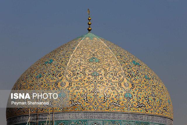 نظر ناظر پروژۀ مرمت گنبد مسجد شیخ لطف الله چیست؟