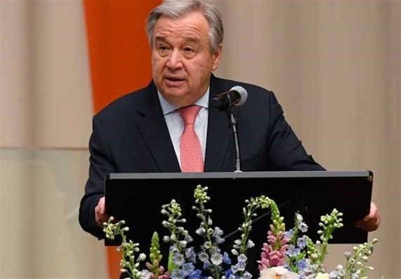 دبیرکل سازمان ملل متحد: کشورها با ایران درمبارزه با کرونا همکاری نمایند