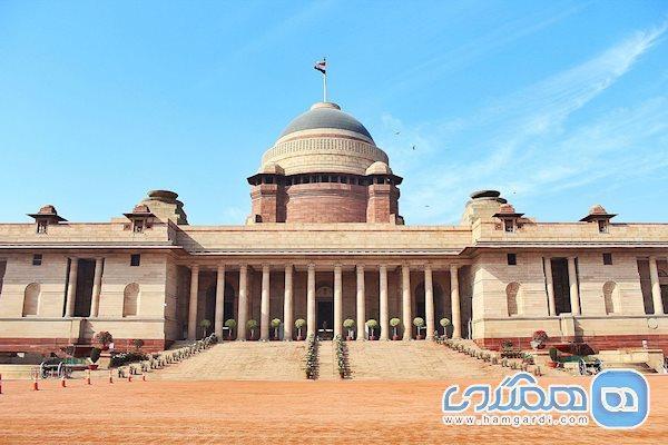 کاخ ریاست جمهوری راشتراپاتی بهاوان؛ کاخی به عظمت تاریخ هند