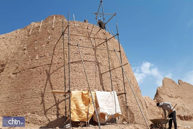 بازسازی و حفاظت مجموعه تاریخی بلقیس اسفراین از سر گرفته شد