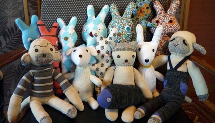 3 روش ساخت عروسک با جوراب