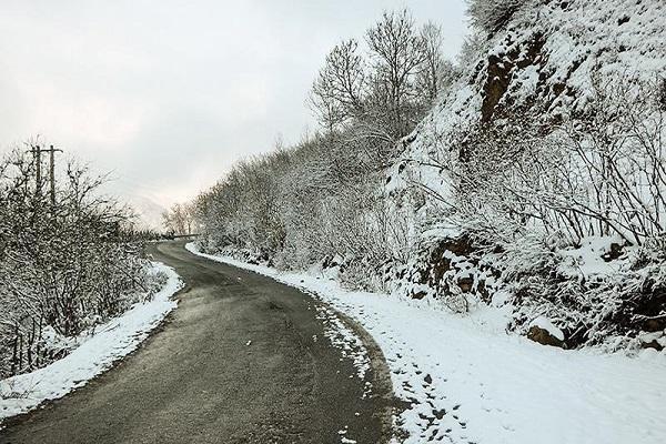 هواشناسی ایران 99، 7، 14، بارش باران و برف 5 روزه دربرخی مناطق کشور