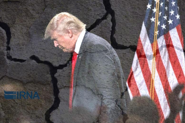 خبرنگاران ناکامی های متوالی ترامپ را هتاک کرده است