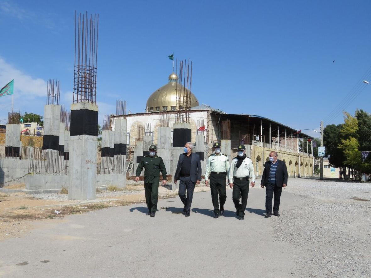 خبرنگاران مراسم اربعین حسینی در مراغه به صورت مجازی برگزار گردید