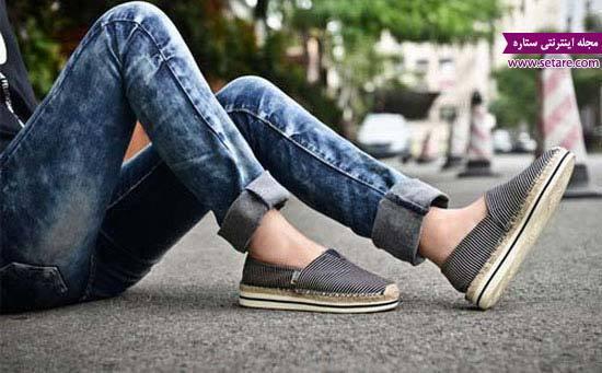 کلکسیون کفش کتانی دخترانه و بسیار شیک