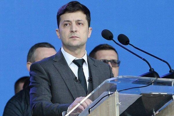 رئیس جمهور اوکراین کرونا گرفت