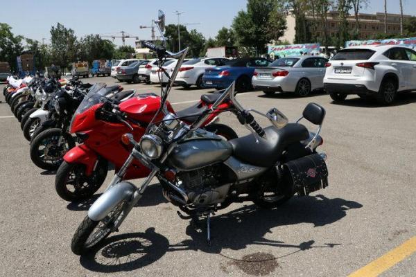 کشف 20 فقره سرقت موتورسیکلت