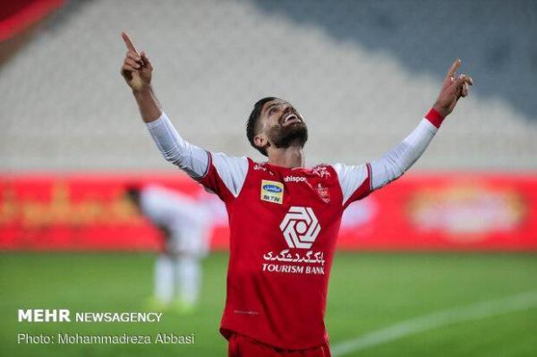 هافبک پرسپولیس بهترین بازیکن فینال لیگ قهرمانان 2020