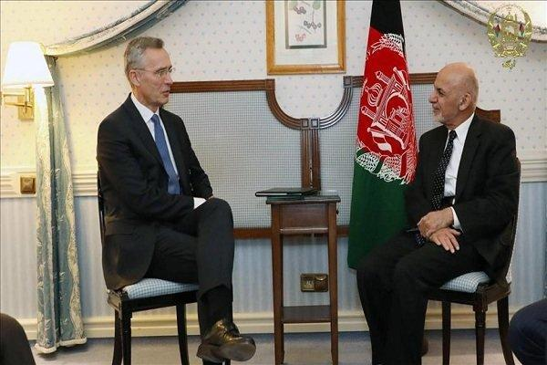 ملاقات دبیر کل ناتو با رئیس جمهور افغانستان