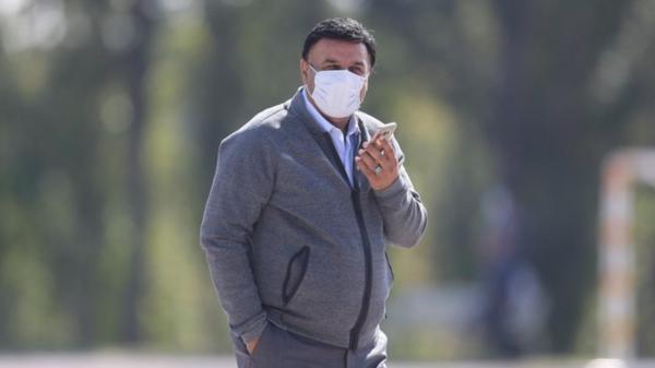 مظلومی قربانی حضور هانی نموده در تمرین استقلال؟