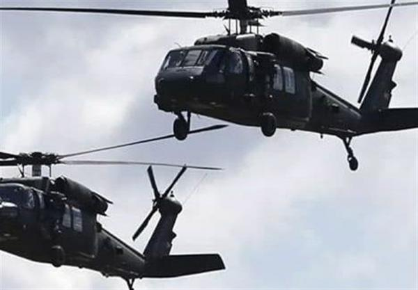 جابجایی تجهیزات نظامی به پایگاه آمریکا در الحسکه با استفاده از هواپیما های نظامی
