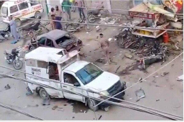 انفجار بمب در راستا نیروهای امنیتی پاکستان