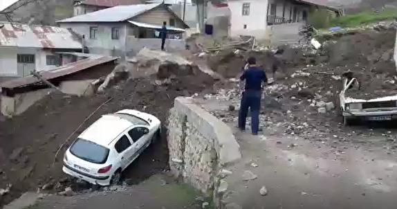 جان مردم در خطر است، ضرورت احداث دیوار محافظ برای روستای پیت سرای سوادکوه