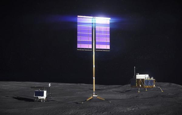 ناسا آرایه های بزرگ خورشیدی روی سطح ماه مستقر خواهد کرد