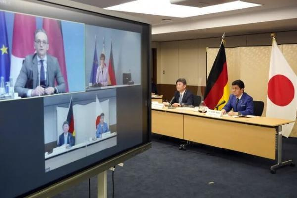 اولین مذاکرات امنیتی آلمان و ژاپن برای بازدارندگی مقابل چین