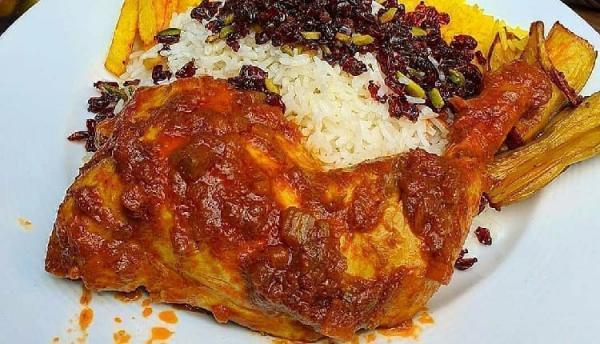 طرز تهیه خورشت مرغ بسیار خوشمزه و لذیذ، برای مهمانی