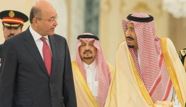 رایزنی برهم صالح و ملک سلمان درباره روابط دوجانبه