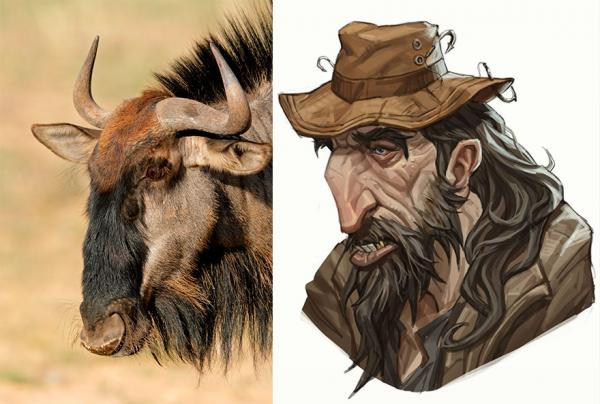 این هنرمند گرافیست با این تصاویر تخیل نموده که اگر حیوانات به شخصیت های انسانی انیمه ای تبدیل می شدند، چه شکلی می شدند!