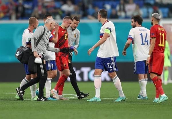 یورو 2020، شنبه سیاه باز هم قربانی گرفت؛ هافبک بلژیک دچار شکستگی استخوان شد، مارتینس: کاستانیه تورنمنت را از دست داد
