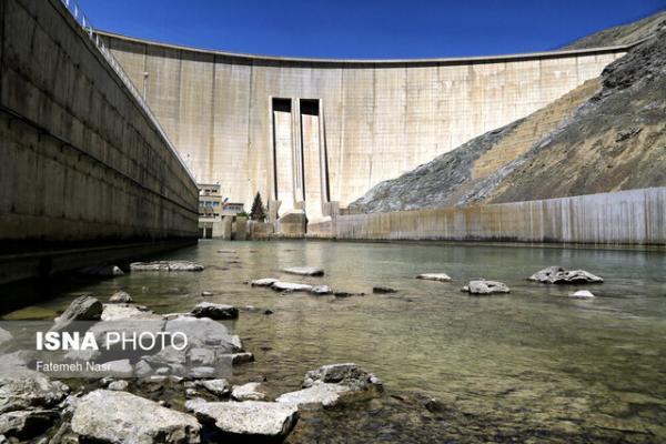 افزایش خروجی سد زاینده رود از عصر امروز