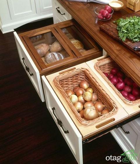 طراحی دکوراسیون آشپزخانه حرفه ای مخصوص آشپزهای حرفه ای ، عکس